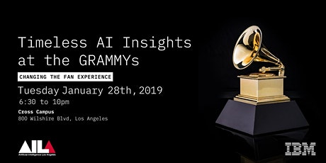 Timeless AI Insights at the GRAMMYs Changing the Fan Experience tickets