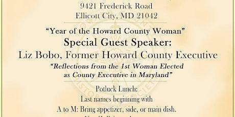 Howard County Historical Society Annual Membership Meeting tickets