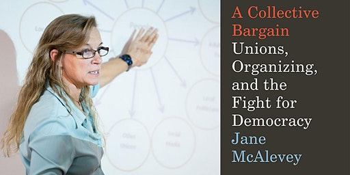 Book Talk with Jane McAlevey
