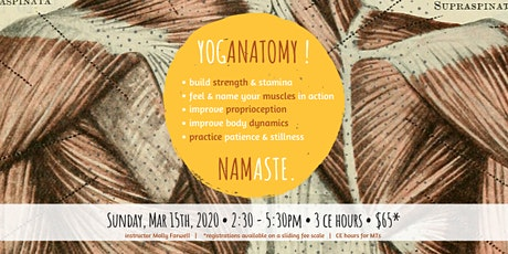 YogAnatomy! Self Care for the Neck, Shoulders, and Spine tickets