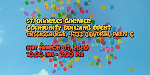 St. Charles Garnier Community Building Event