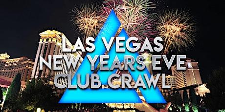 2021 Las Vegas New Years Eve Club Crawl tickets