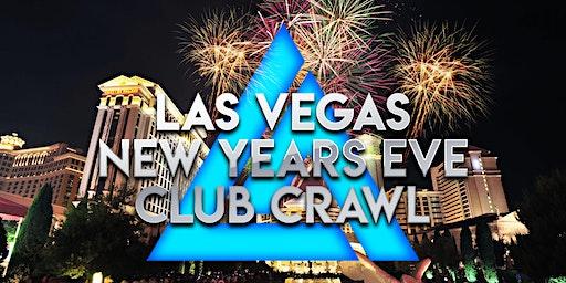 2021 Las Vegas New Years Eve Club Crawl