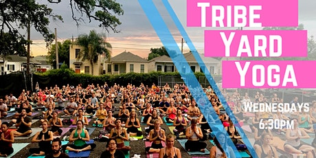 Tribe Yard Yoga LIVESTREAM tickets