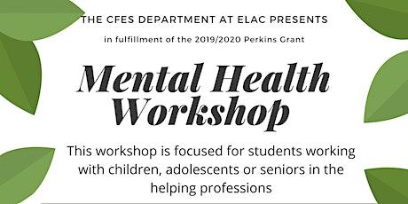 Mental Health Workshop tickets
