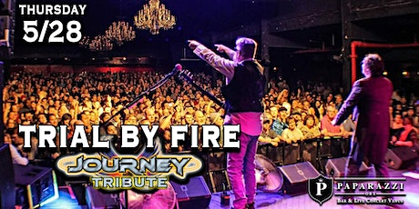 Trial By Fire: Journey Tribute LIVE! at Paparazzi OBX! tickets