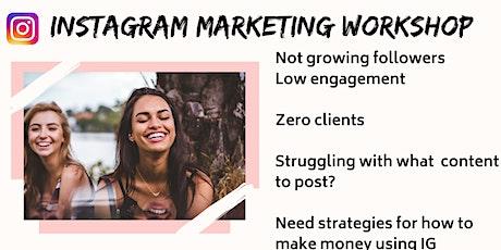 Instagram Marketing Bootcamp Workshop + Brunch tickets