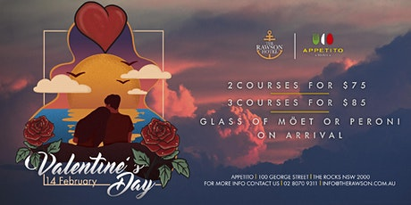 Valentine's Day at Appetito Restaurant tickets