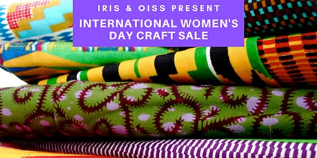International Women's Day Craft Sale with IRIS tickets