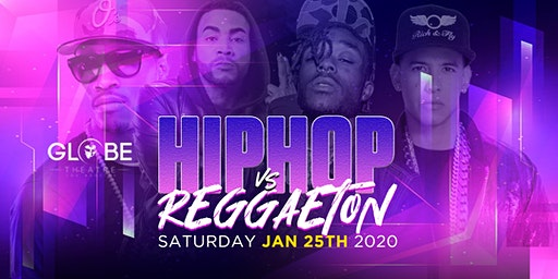 HIP-HOP VS REGGAETON 18+ PARTY @ THE GLOBE LA / EVERYONE FREE UNTIL 10:30PM
