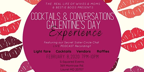 Cocktails & Conversations Galentines Day Experience tickets