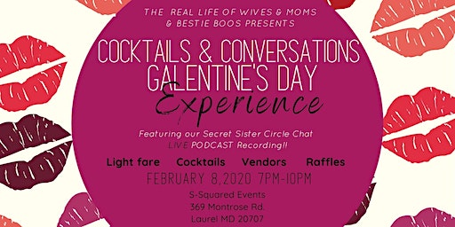 Cocktails & Conversations Galentines Day Experience