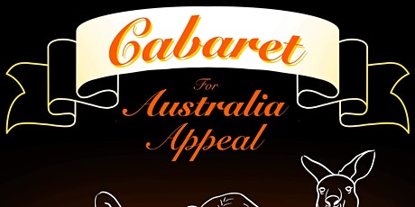 Cabaret for Australia Appeal tickets
