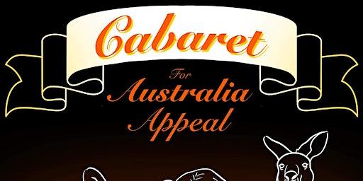 Cabaret for Australia Appeal
