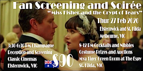 Fan Screening and Soirée - Miss Fisher Movie tickets
