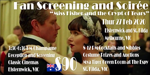 Fan Screening and Soirée - Miss Fisher Movie