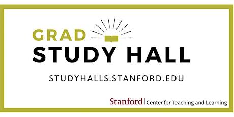 Winter 2020 Grad Study Hall - February 9th tickets