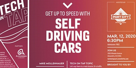 Tech on Tap: Get up to speed with self-driving cars tickets