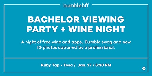 Bachelor Viewing Party + Wine Night