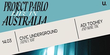 Project Pablo (Live) — Sydney tickets