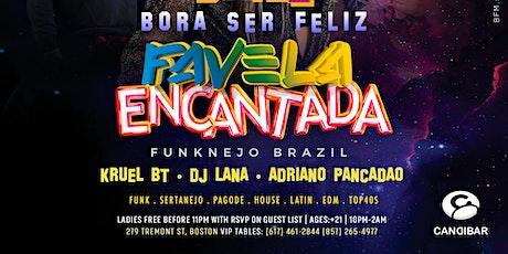 FAVELA ENCANTADA @ Candibar | Guestlist (Must Submit RSVP) tickets