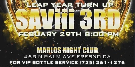 RAP CENTRAL PRESENTS SAViii 3RD tickets