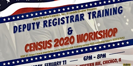 Deputy Voter Training  & Census 2020 Workshop tickets