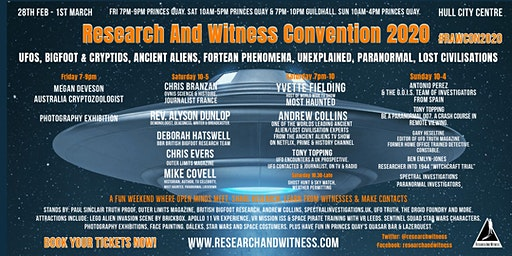 Research And Witness Convention (#RAWCON2020)