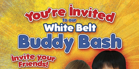 White Belt Buddy Bash! tickets