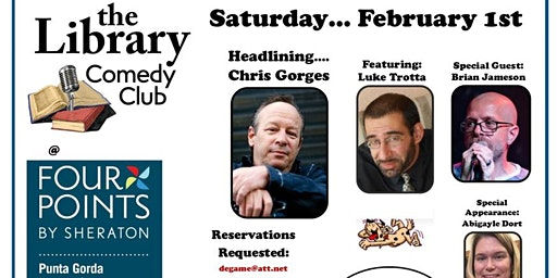 The Library Comedy Club Show