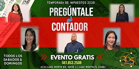Preguntale al Contador: TAXES 2019 tickets