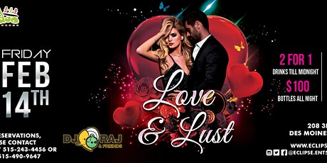 Love & Lust at Voodoo Lounge with DJ RAJ and Friends tickets