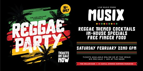 Keller Bar Reggae Party tickets