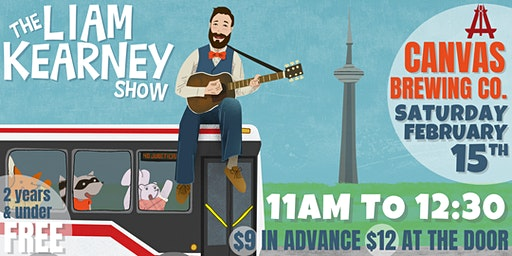 The Liam Kearney Show at Canvas Brewing Co.