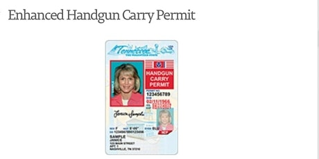 Tennessee Enhanced Carry Permit tickets