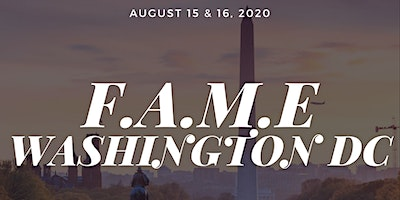 F.A.M.E DC Pop-up Experience : August 15 & 16, 2020 @ Culture House