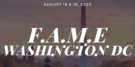 F.A.M.E DC Pop-up Experience : August 15 & 16, 2020 @ Culture House tickets