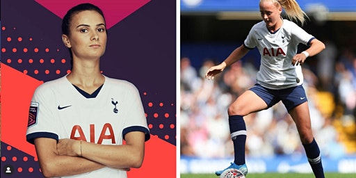 Girls Skills Session  with Tottenham FC stars Chloe Peplow & Rosella Ayane