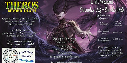 Magic: Theros Beyond Death Draft Weekend at Round Table Games