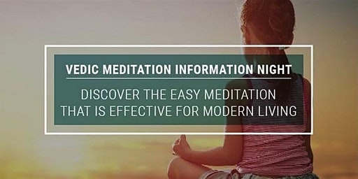 Vedic Meditation Brisbane Information Night