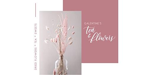 Galentine's Tea + {Dried} Flowers