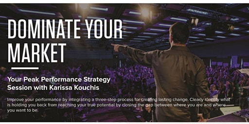 WCR Dominate Your Market - A Tony Robbins Workshop
