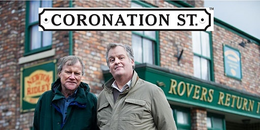 Coronation St. The Full English with Roy & Brian.