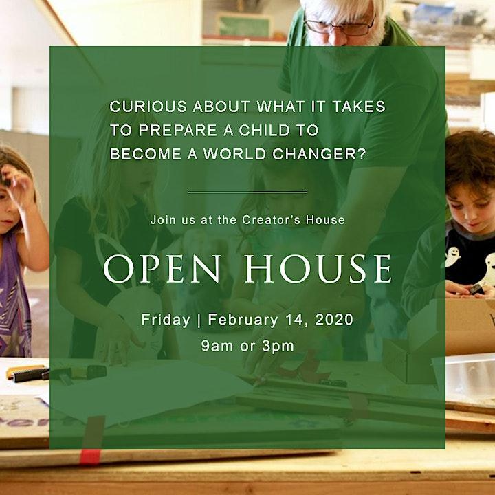 Creator's House Open House image
