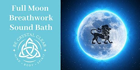 Full Moon Reiki Breathwork & Sound Bath Workshop tickets