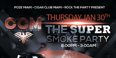 The Super Smoke Party at Red Garden NoMi tickets
