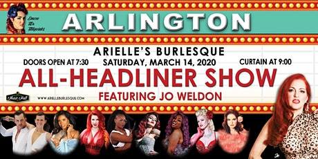 Arielle's Burlesque  featuring Jo Weldon tickets