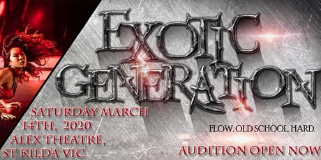 Exotic Generation Australia tickets