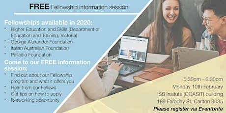 ISS Institute FREE Fellowship information session tickets