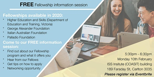 ISS Institute FREE Fellowship information session